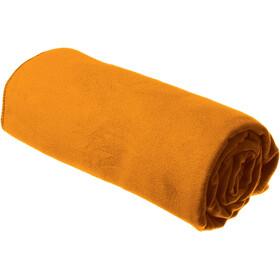 Sea to Summit Drylite handdoek Antibacterial L oranje